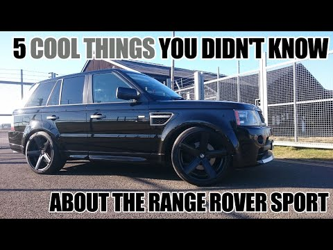 5 Cool TRICKS You DIDN'T KNOW Your Range Rover Sport Can Do - How To TIPS & INSTRUCTIONS