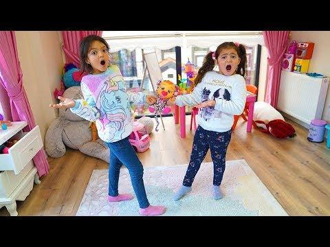 Öykü ve Masal'ın Bebeği Kayboldu! Babies to Sing and Learn to play at home