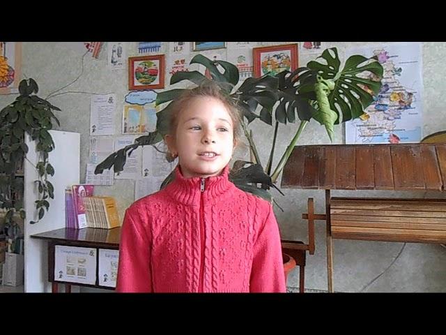 Изображение предпросмотра прочтения – ВероникаФедотова читает произведение «Сельская песенка» А.Н.Плещеева