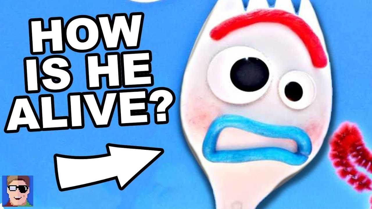 How Is Forky Alive? | Toy Story 4