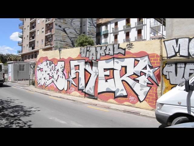 Vídeo-reportaje Barrio del Carmen (Valencia) - Grafiteando
