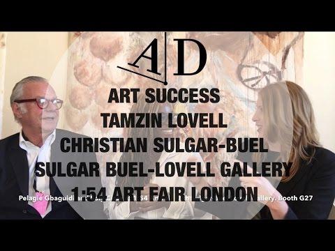 Sulgar Buel-Lovell Gallery at 1:54 Art Fair London: Art Discussion
