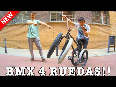 CREAMOS UNA BMX CON 4 RUEDAS - El reto más difícil de todos!!