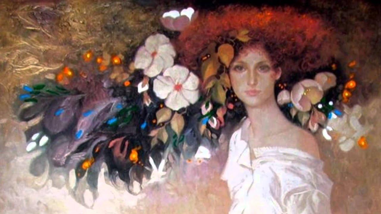 Oil Painting Artist In Spain