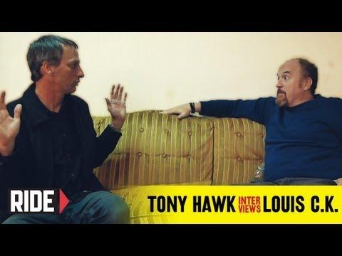 Tony Hawk Interviews Louis C.K. about Dane Cook, Reddit, Louie, and More!
