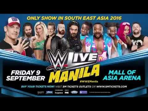 Cena headlines WWE LIVE Manila