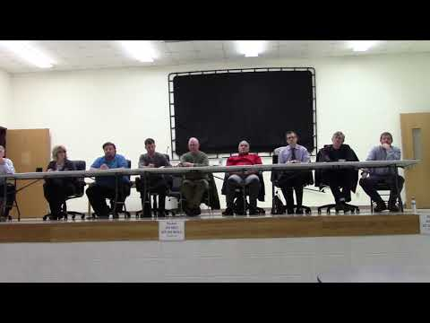 Mineral Point School Board 12.17.18