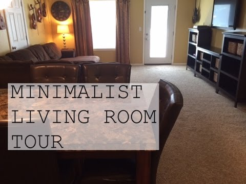 MINIMALIST LIVING ROOM (FAMILY ROOM) TOUR | FAMILY ...