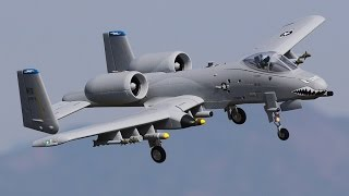 Load Video 2:  FMS A-10 Thunderbolt II PNP EDF featuring 70mm Fans