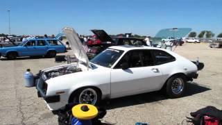 Tim Reed's 7-Second Pinto at Drag Week 2012