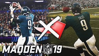 THINGS THAT WON'T BE IN MADDEN 19