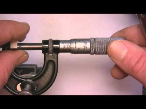 How To Read Micrometers
