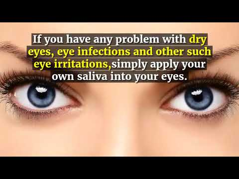 WHY MORNING SALIVA IS GOOD FOR YOU!! - YouTube