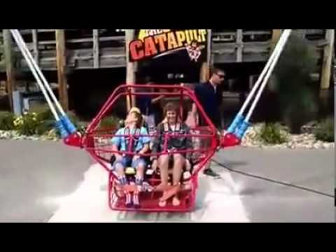 Shocking Carnival Ride Malfunction Surprises A Mom And Son Youtube