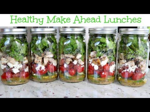 How to Make Mason Jar Salads | Grilled Chicken Greek Salad Recipe