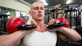 Как прокачать все тело одной гирей / 2 комплекса упражнений
