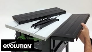Evolution Fury5: Table Saw Assembly
