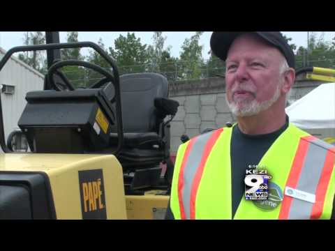 Kids Try Out Jobs on Public Works Day