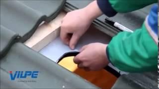 видео Установка крышных вентиляторов