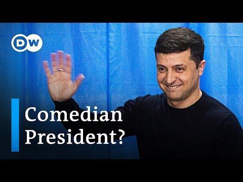 Ukraine's presidential frontrunner: Who is Volodymyr Zelensky? | DW News