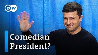 Ukraine's presidential frontrunner: Who is Volodymyr Zelensky? | DW News