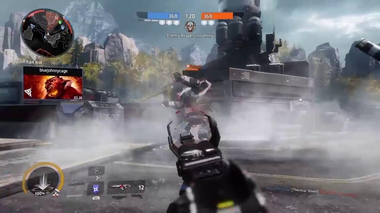 Titanfall 2 multiplayer gameplay part 1 - YouTube