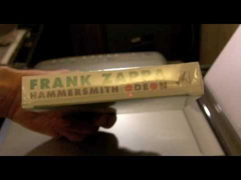 Frank Zappa-Hammersmith Odeon CD set Unboxing