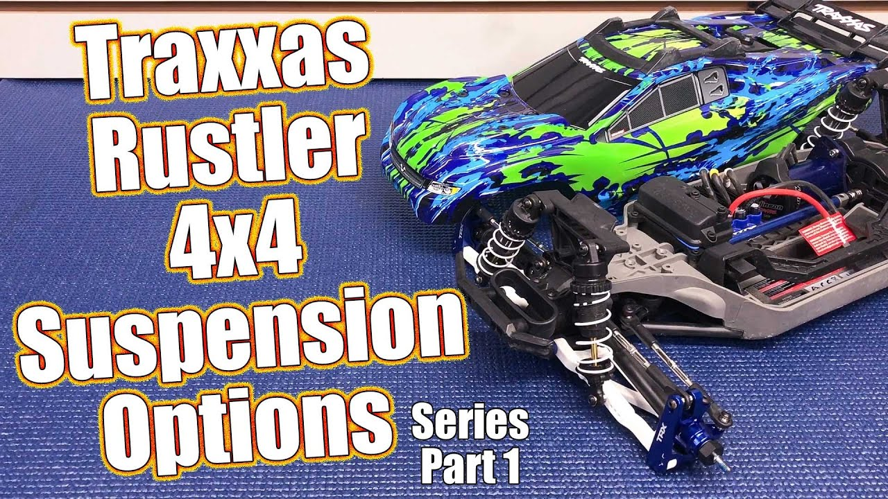 Suspension Overhaul! Traxxas Rustler 4x4 VXL Full Upgrade Project Truck  Part 1 | RC Driver