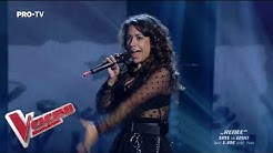Renee Santana - Billie Eilish - when the party's over   LIVE 1   Vocea Romaniei 2019