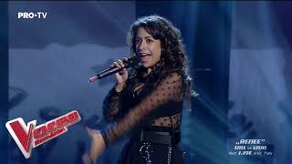 Renee Santana - Billie Eilish - when the party's over | LIVE 1 | Vocea Romaniei 2019