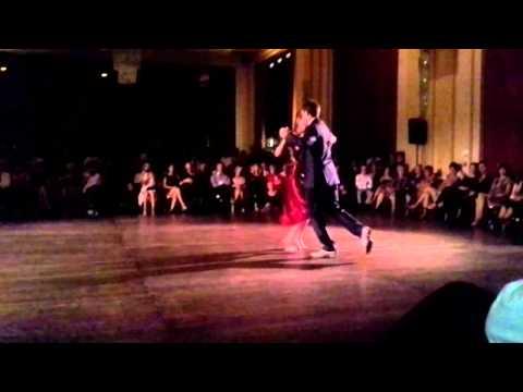 Lucia Lerendegui et François Saulnier, Casino de Biarritz, festival international de tango 1/2