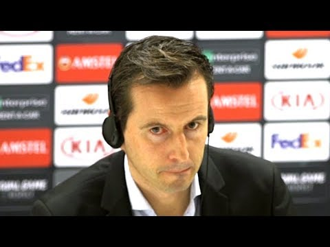 Arsenal 3-0 Rennes (Agg 4-3) - Julien Stephan Full Post Match Press Conference - Europa League