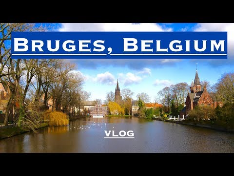 Day trip to beautiful Bruges / travel guide / vlog - (the most underrated city in Europe)