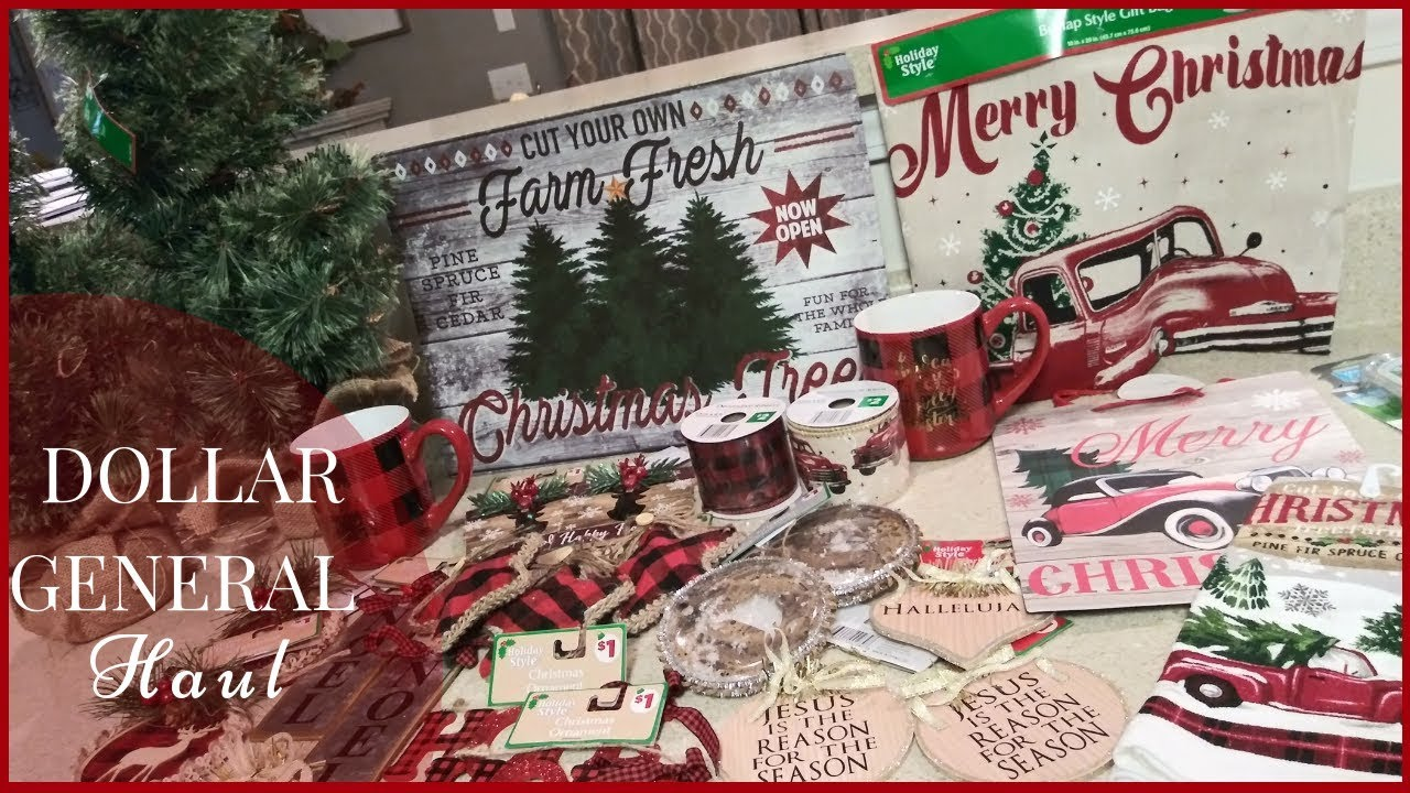 Is Dollar General Open On Christmas.Christmas Dollar General Haul Rustic Farmhouse Decor