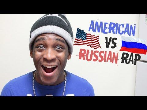 AMERICAN RAP VS RUSSIAN RAP | REACTION