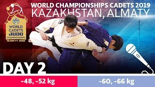 World Judo Championship Cadets 2019: Day 2