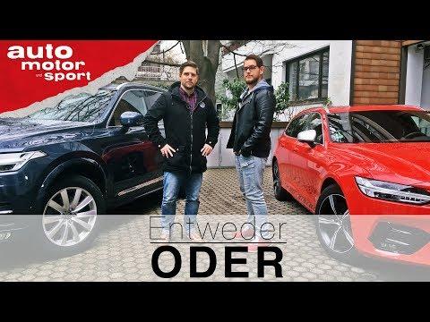 Volvo XC90 vs V90 | Entweder ODER | (Vergleich/Review) auto motor und sport