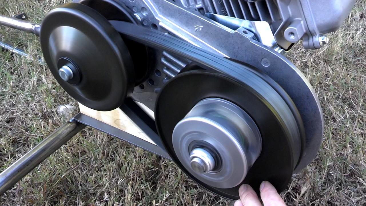 Azusa Go Kart + Harbor Freight 212cc engine + Comet torque converter