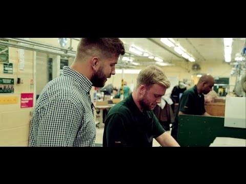 Barbour jacket re-wax with Al Rogers