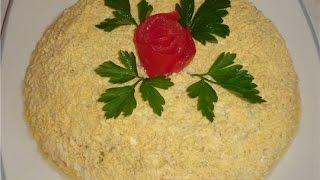 Как приготовить салат МИМОЗА. Рецепт с видео. Пошаговая инструкция