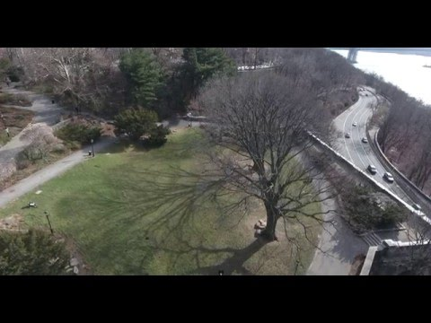 NYC Fort Tryon park Droned