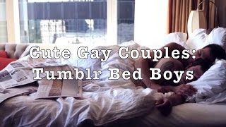 Cute Gay Couples: Tumblr Bed Boys