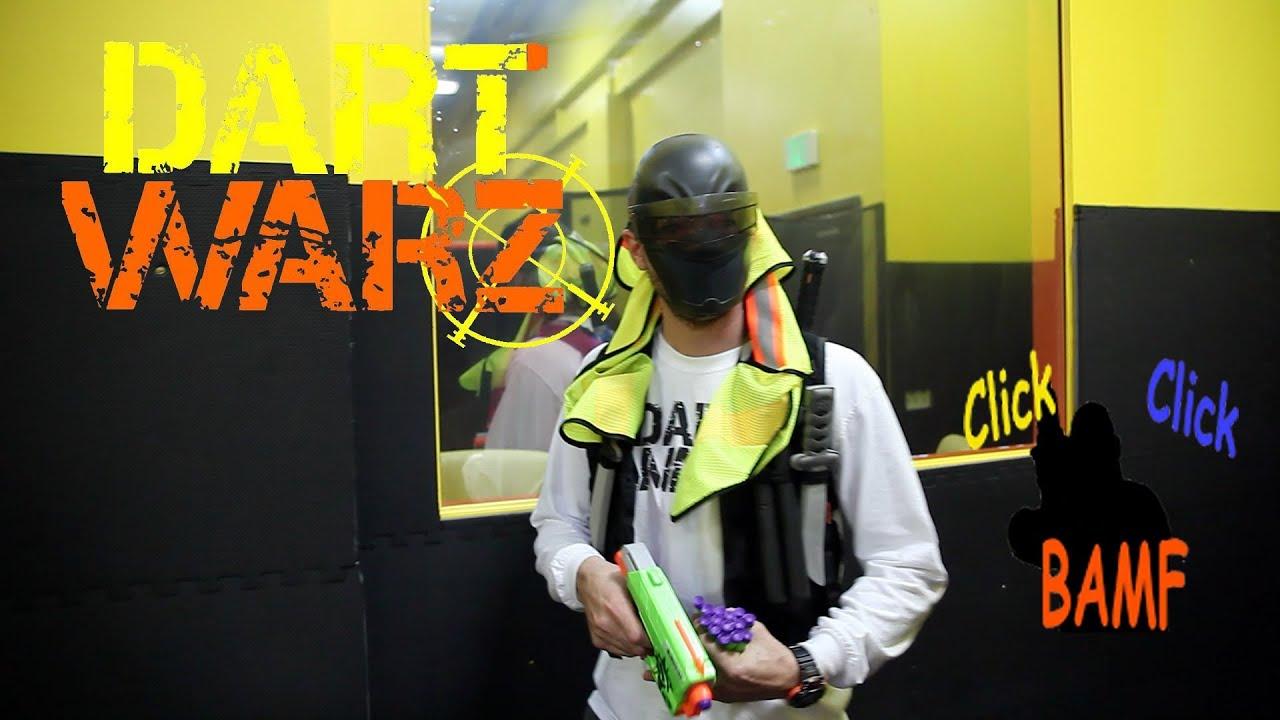 Extreme NERF Arena Dart Warz Centennial YouTube
