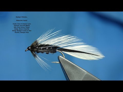 Tying the Badger Matuka with Davie McPhail