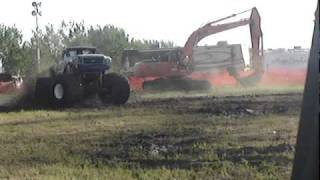 MANIAC  PROVOST ALBERTA  MUD DRAGS june 20 / 09