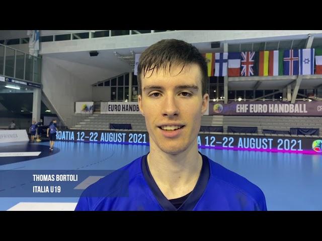 M19 EHF EURO: Italia - Francia 23-30 | Il post-gara