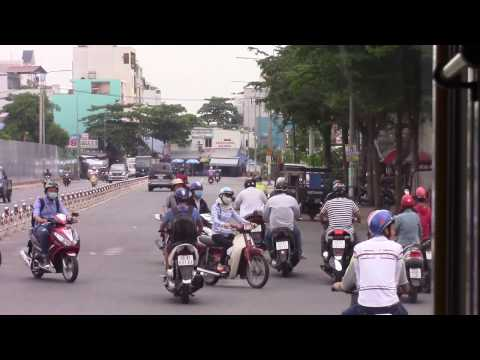 Experience Airport Bus 119 From Tan Son Nhat to Mekong Delta Bus Station