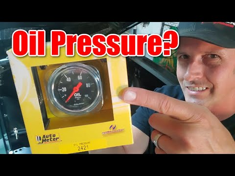 How to install gauges by Autometer, Part 2 – Mechanical Oil Pressure