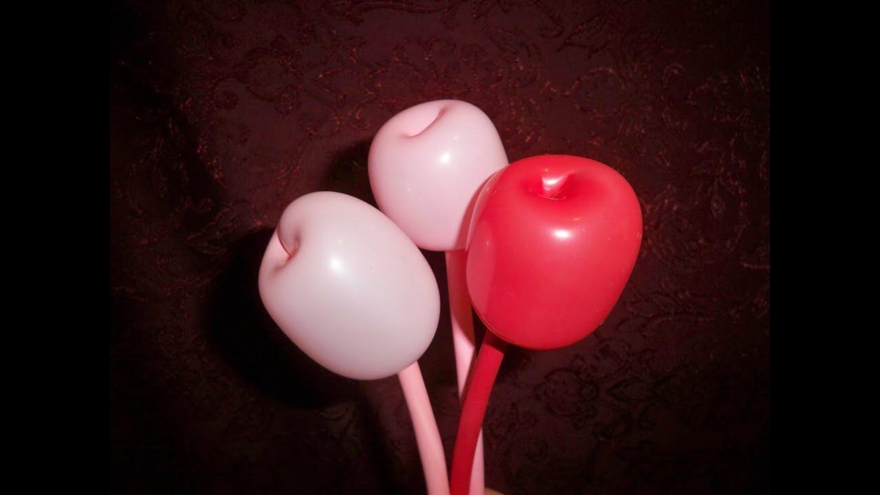 how to tulip twist balloon flower apple twist balloon flower balloon animal youtube. Black Bedroom Furniture Sets. Home Design Ideas