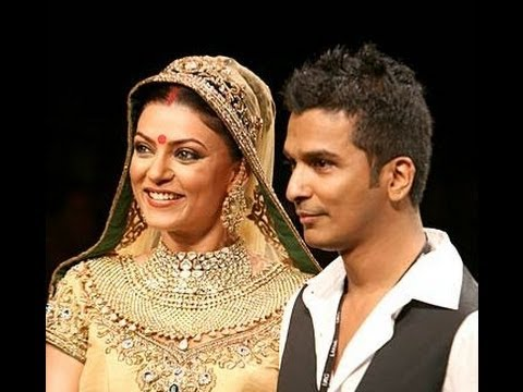 Vikram Phadnis Returns To Lakme Fashion Week 2012 Youtube